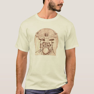 T-shirt Batteur de Vitruvian