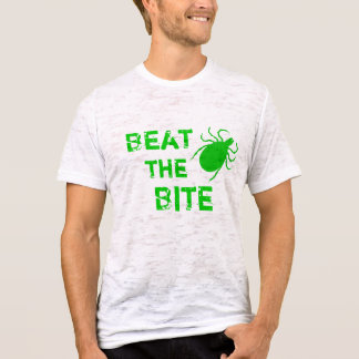 T-shirt Battez la maladie de Lyme de morsure
