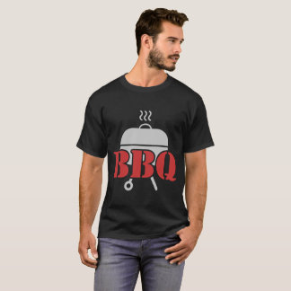 T-SHIRT BBQ, BARBECUE, GRIL, CUISINIER,