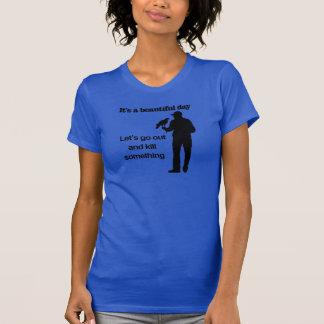 T-shirt Beau jour pour la fauconnerie