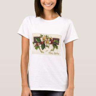 T-shirt Beau Noël vintage victorien de vacances