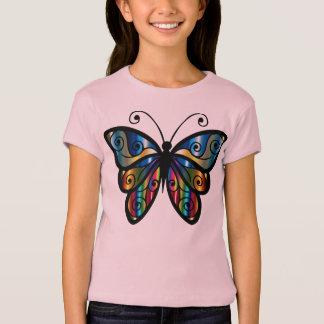 T-shirt Beau papillon iridescent
