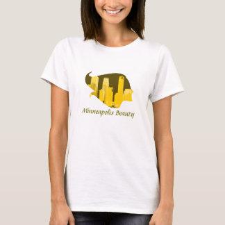 T-shirt Beauté de Minneapolis en jaune