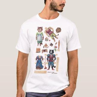 T-shirt Beauté et la bête, Louis Wain