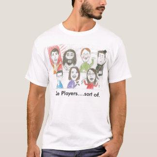 T-shirt Beauté et le fluage : Les joueurs