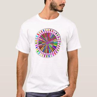 T-shirt BEAUTÉ : Roue mobile Chakra avec de l'ÉNERGIE