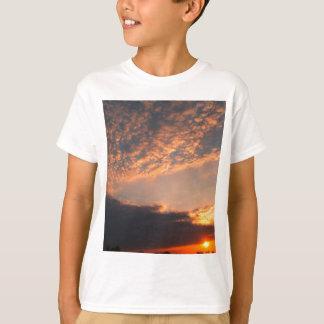T-shirt beaux ciel et nuage