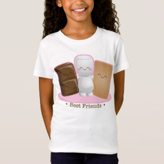 """T-Shirt Bébé de filles """"d'amis de S'more"""" - chemise de"""
