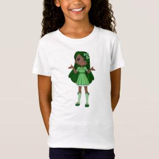 T-Shirt Bébé de Madame Lime d'Afro-américain - poupée