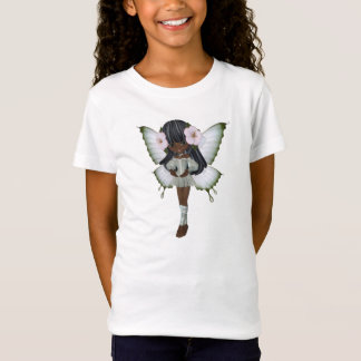 T-Shirt Bébé de princesse Butterfly d'Afro-américain -