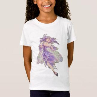 T-Shirt Bébé féerique de filles de glycines - poupée