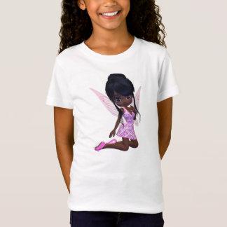 T-Shirt Bébé mignon de fille d'Afro-américain - poupée