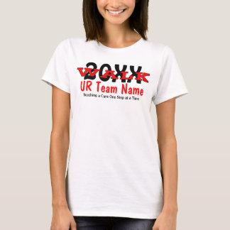 T-shirt Bébé personnalisé de dames de promenade de charité