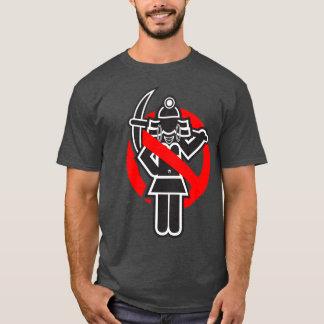 T-shirt Bêcheur d'or non permis