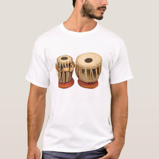 T-shirt Bel instrument de percussion indien réglé de Tabla