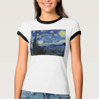 T-shirt Bella des femmes de nuit étoilée+T-shirt de
