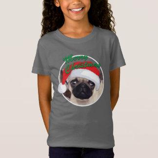 T-Shirt Bella des filles de carlin de Noël+T-shirt du
