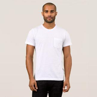 T-shirt Bella des hommes+T-shirt de poche de toile