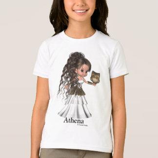 T-shirt Belle Athéna chemise grecque de déesse de Kawaii