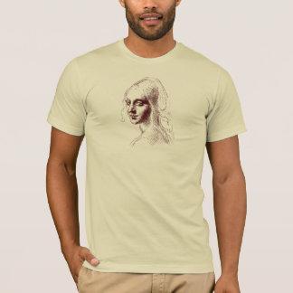 T-shirt Belle chemise de fille de Leonardo