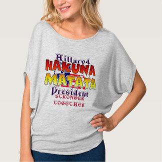 T-shirt Belle Hillary extraordinaire pour le président