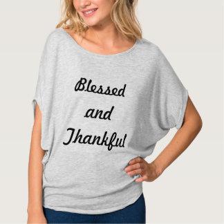 T-shirt Béni et reconnaissant