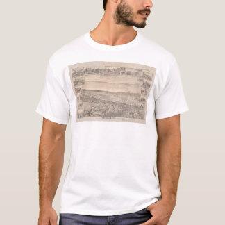 T-shirt Berkeley, carte panoramique 1891 (0099A) de CA -