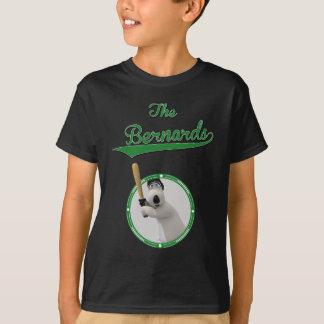 T-shirt Bernard Bear Base-ball Merchandise