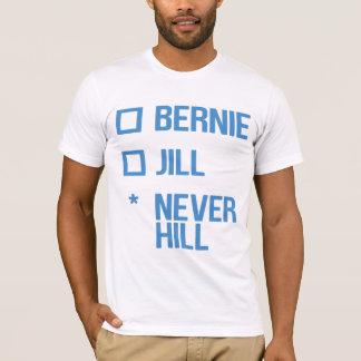 T-shirt Bernie ou Jill, NeverHill - bleu