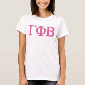 T-shirt Bêta grand logo de Lil de phi gamma
