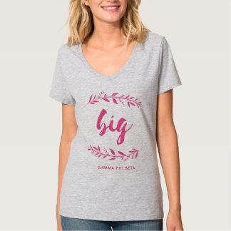 T-shirt Bêta grande guirlande de phi gamma
