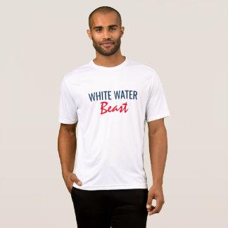 T-shirt Bête de l'eau blanche