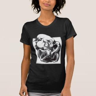 T-shirt Bête de tentacule