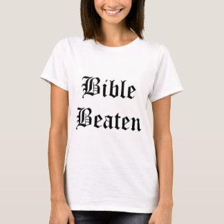 T-shirt Bible battue