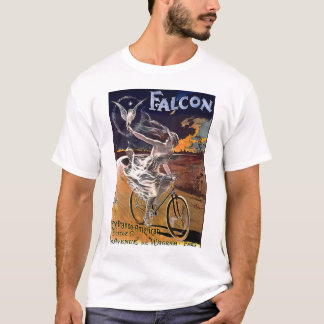 T-shirt Bicyclette de faucon