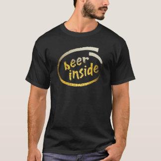 T-shirt Bière à l'intérieur