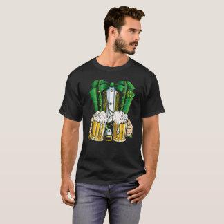 T-shirt bière de Jour de la Saint Patrick d'hommes de
