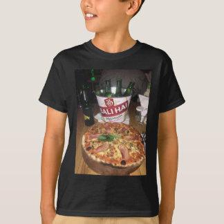 T-shirt Bière et pizza de Bali