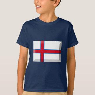 T-shirt Bijou de drapeau des Iles Féroé