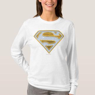 T-shirt Bijoux de bleu de Supergirl