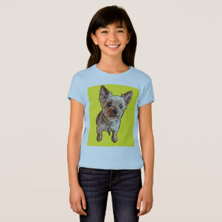 T-shirt Billy le Yorkie