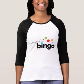 T-shirt Bingo-test de ville d'océan