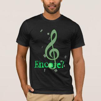 """T-shirt """"Bis ?"""" T pour le musicien"""