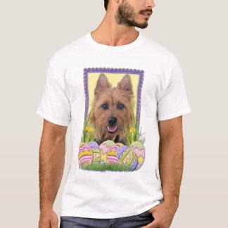 T-shirt Biscuits d'oeuf de pâques - Terrier australien