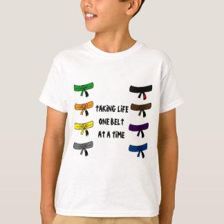 T-shirt Bjj ceinture la chemise