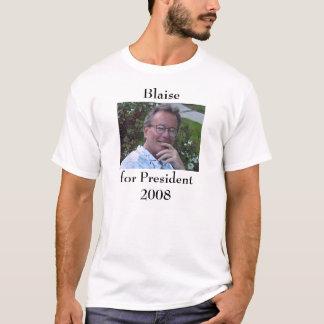 T-shirt Blaise pour le président 2008