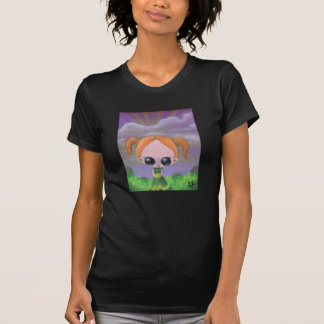 T-shirt blâmez-le sur la chemise des femmes de fleurs