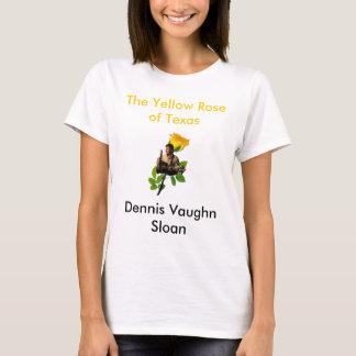 T-shirt BLANC de Dennis Backround, le rose jaune de Texa…