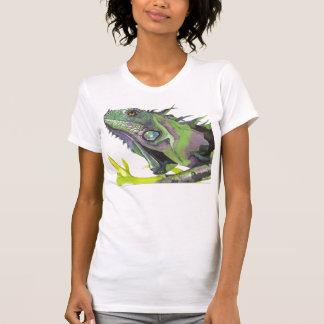T-shirt blanc de reptile