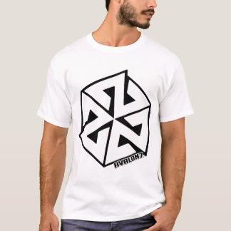 T-shirt Blanc d'Inspiracon sur le noir